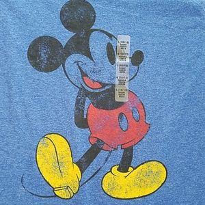 NWT Disney distressed Mickey tee, 10/12 kids